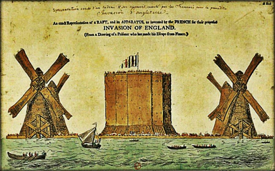Raft-France-Invasion-England