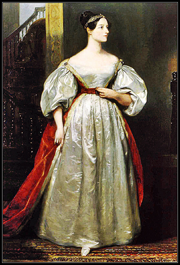 15-works-of-art-depicting-women-in-science-11-Ada-Lovelace-Margaret-Carpenter