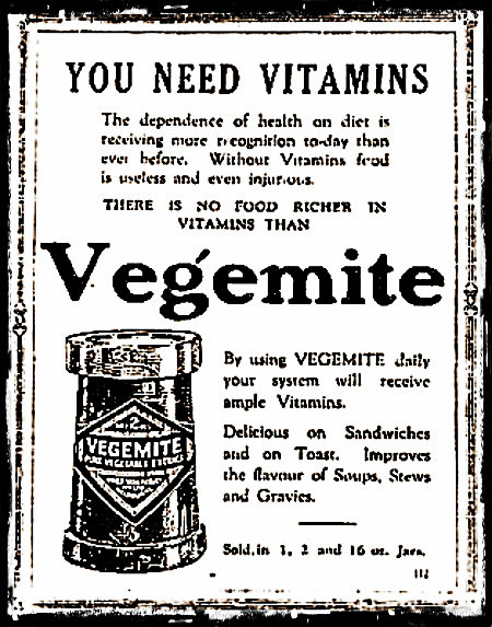 VegemiteAdWomensWorld1925