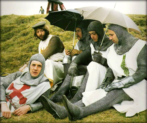 Behind the scenes of Monty Python's Holy Grail (1)