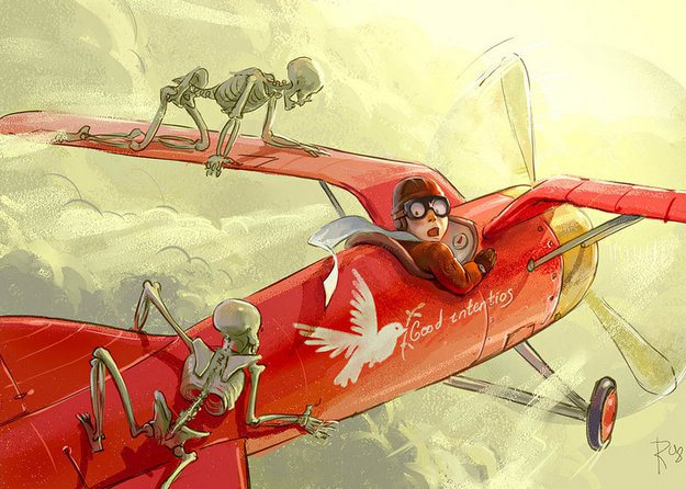 flyer-and-skeletons-by-waldemar-kazak-20081