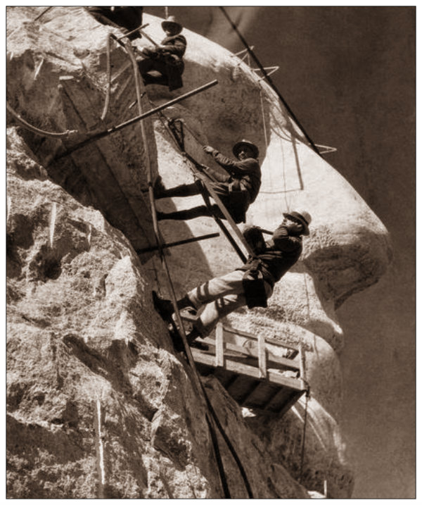 The Making of Mount Rushmore, ca