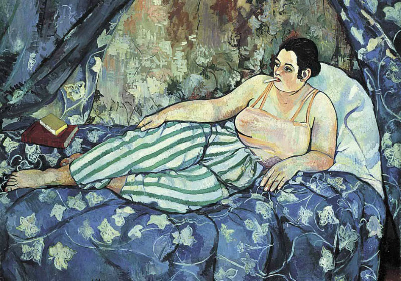 1 Suzanne Valadon (1867-1938) The Blue Room 1923