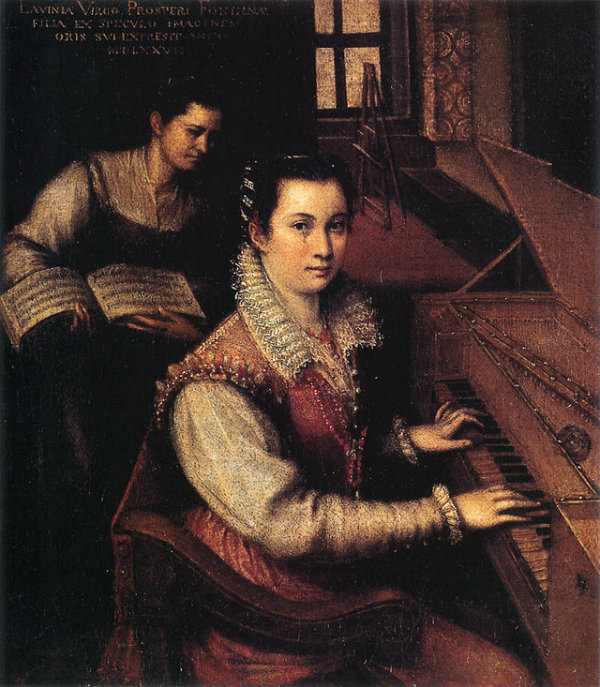 640px-Self-portrait_at_the_Clavichord_with_a_Servant_by_Lavinia_Fontana
