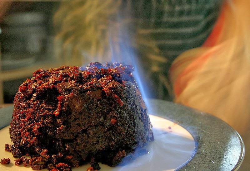 Christmas pudding Matt Riggott