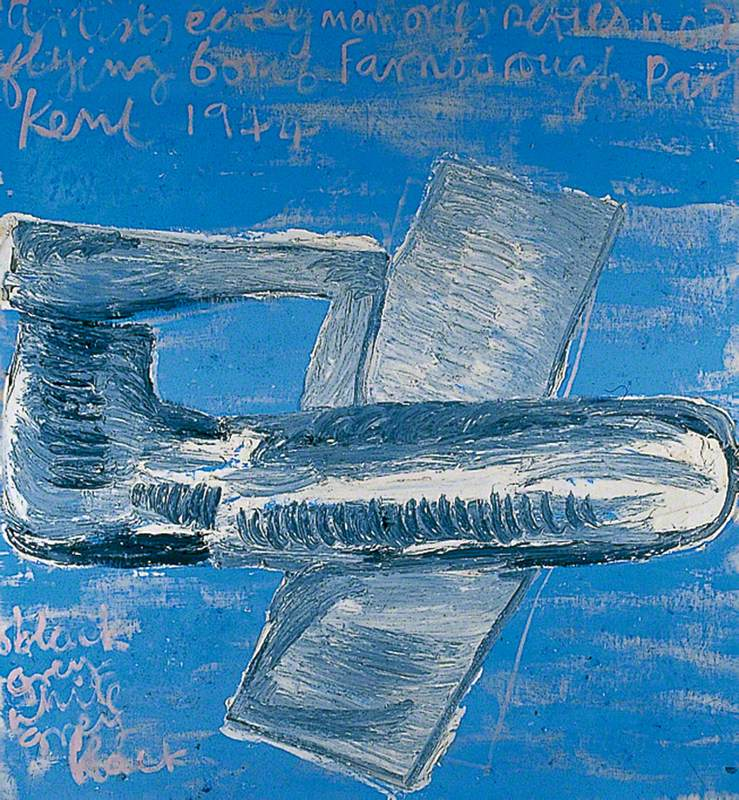 (c) Rose Wylie; Supplied by The Public Catalogue Foundation