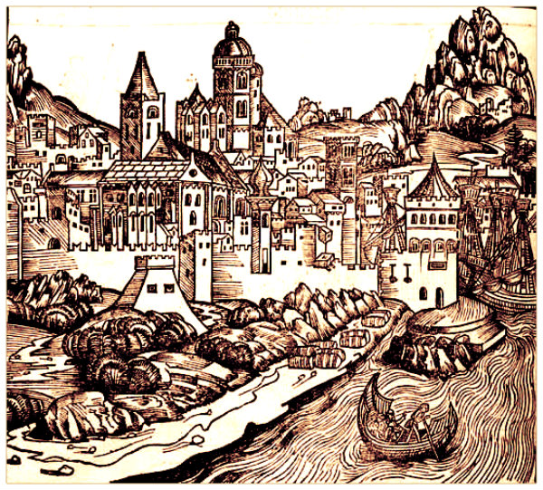 Mainz, from The Nuremberg Chronicle