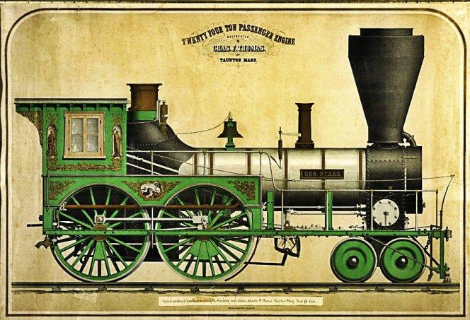 Twenty Four Ton Passenger Engine, 'Gen