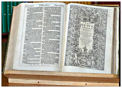 The 'Vinegar' King James Bible (1717)  | Old Guv Legends
