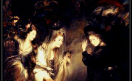 The Three Witches fromMacbeth.