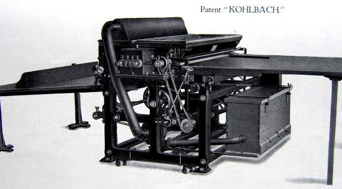 Kolbach Bronzing Machine