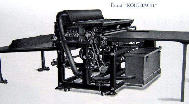 Kolbach Bronzing Machine