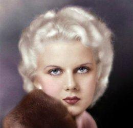"Jean Harlow ""BlondeBombshell"""