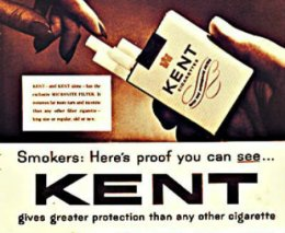 Kent Cigarettes once had AsbestosFilters.