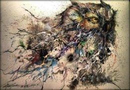 Artist Creates StunningOwl.