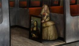 Paintings by Mike Worrall.