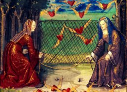 The Little Book of Love by Pierre Salas,c.1500s.