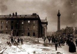 The Easter Uprising in Dublin1916.