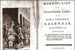 Harris's List of Covent-GardenLadies.