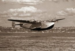 The Boeing 314 Clipper Flying Boat,1938.