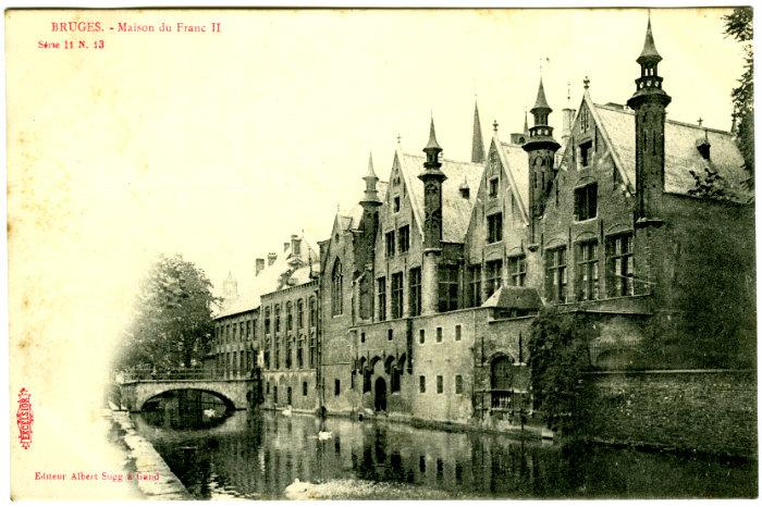 Postcard_-_Bruges_-_Maison_du_Franc_II_(Excelsior_Series_11,_No