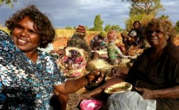 The Tjanpi Women Desert Weavers of Australia.