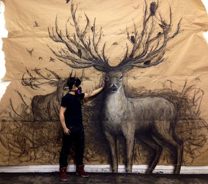 animal-murals-leap-off-the-wall-fiona-tang-1