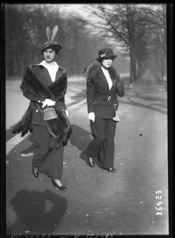 Vintage fashion from the 1910s (3)