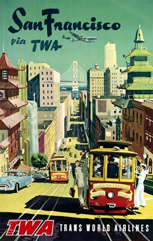 Vintage San Francisco Travel Posters (15)