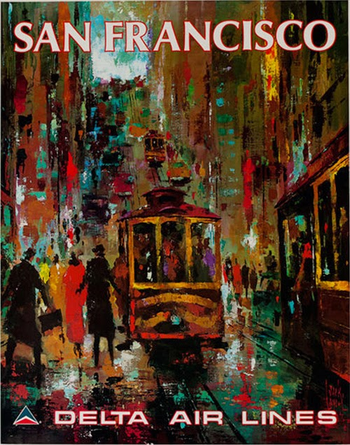 Vintage San Francisco Travel Posters (18)