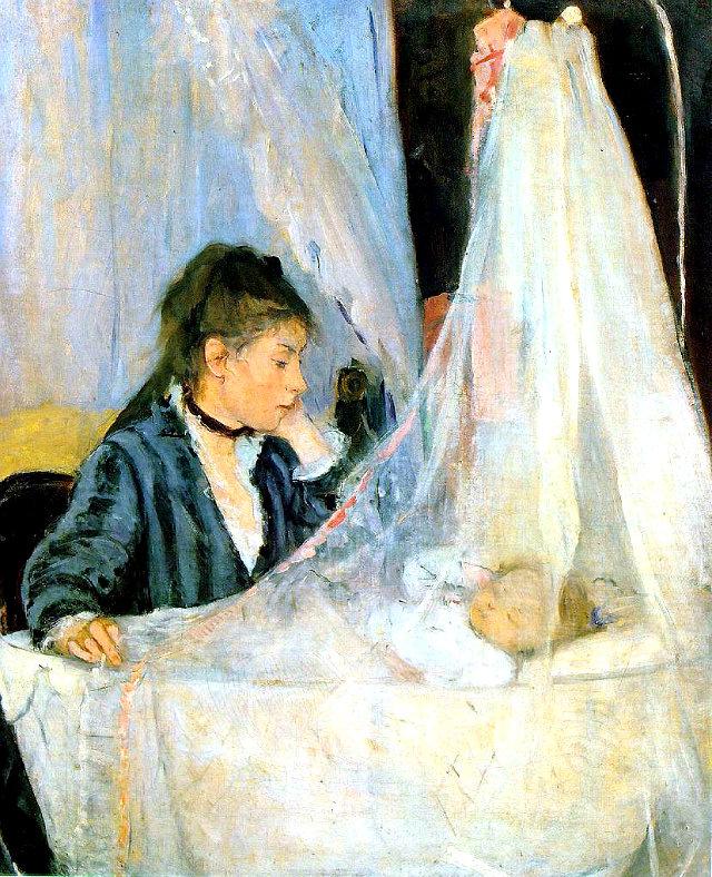 Berthe_Morisot,_Le_berceau_(The_Cradle),_1872