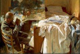 Italian Painter Ambrogio Raffele,1904.