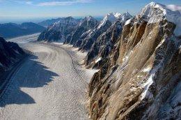 """""""The Ruth Glacier""""."""