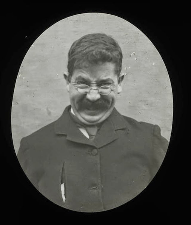 Humorous Victorian's Pulling Faces (1)
