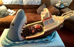 The Jaws Baby Crib.