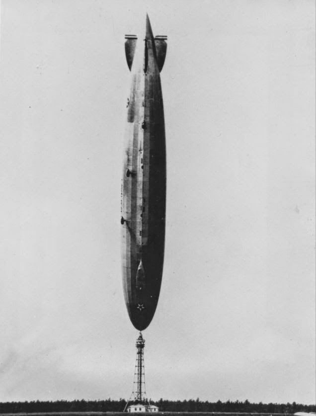 Vintage Photos of Zeppelins in History (10)