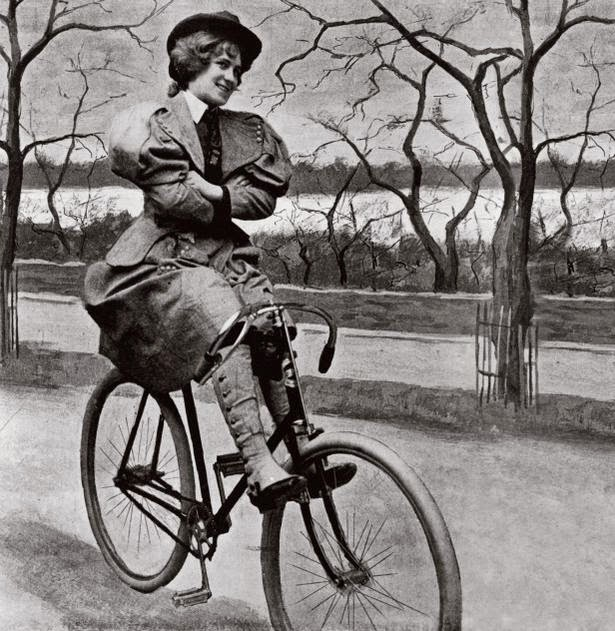 Don'ts for Women on Bicycles in 1895