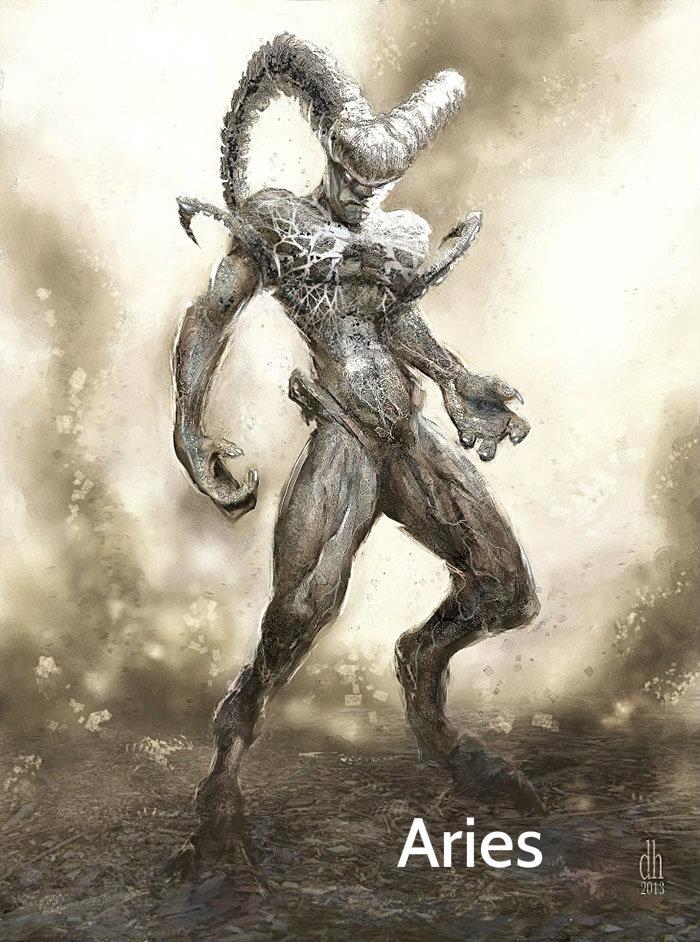 zodiac-fantasy-creatures-damon-hellandbrand-aries