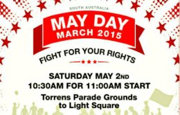 May Day March 2015, S.A.