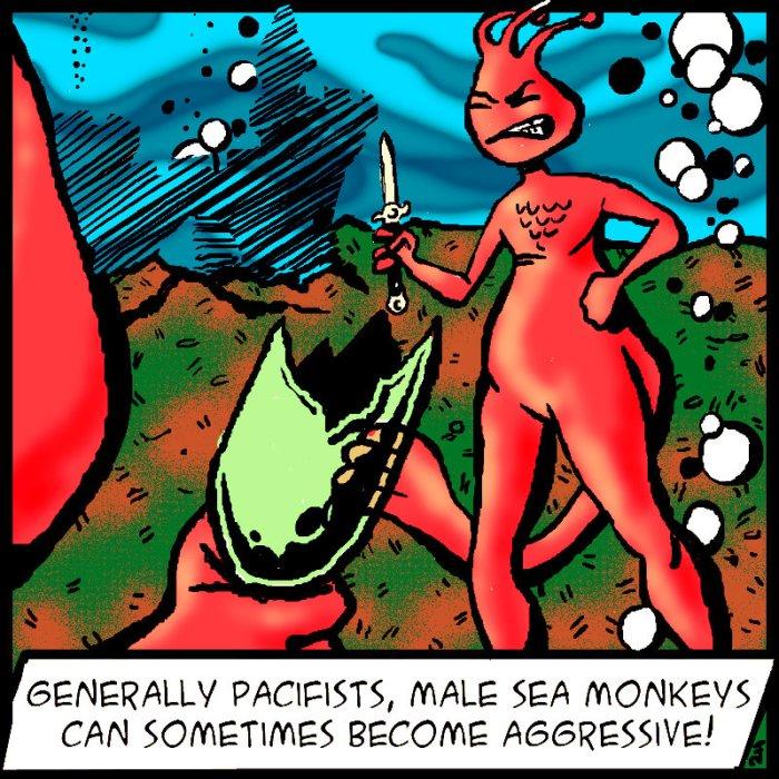Sea-Monkey-Comic