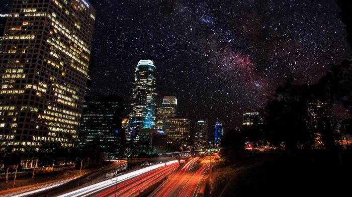 sky-glow