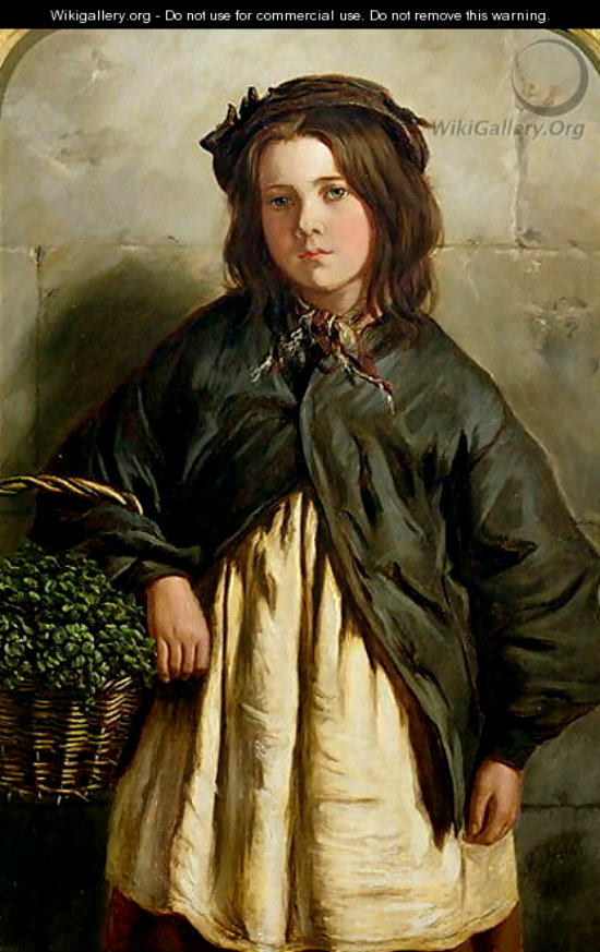 1867 Frederick Ifold the watercress girl