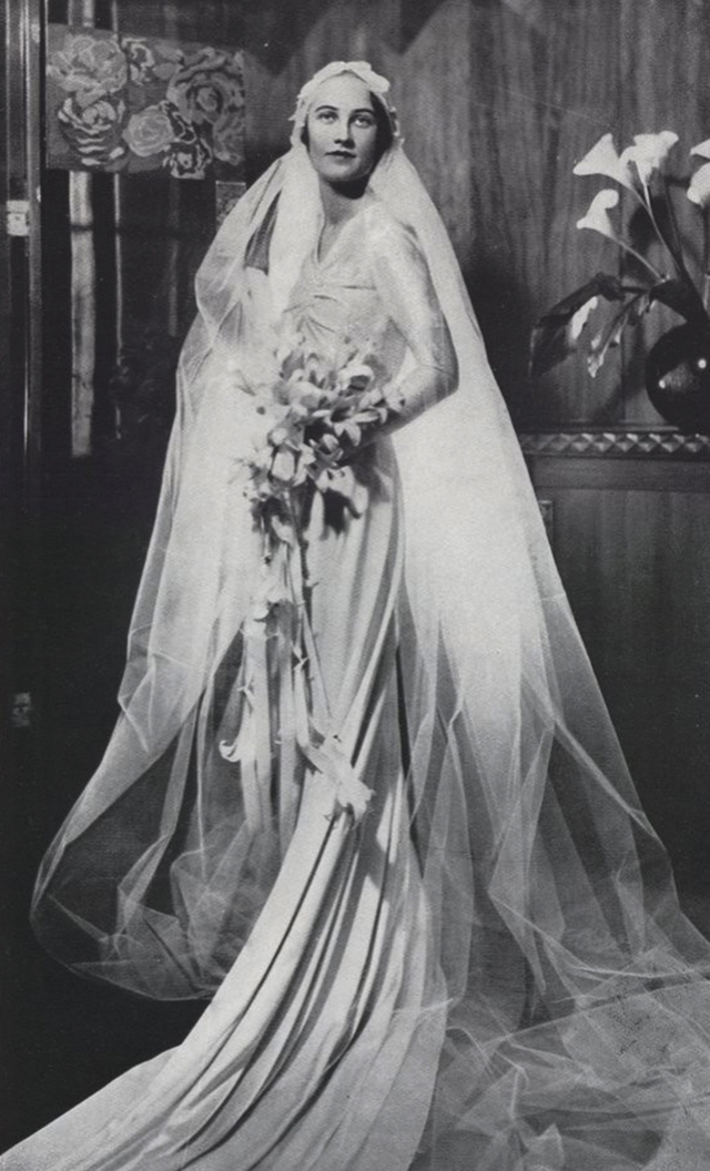 Wedding dress, 1920s-30s (2)