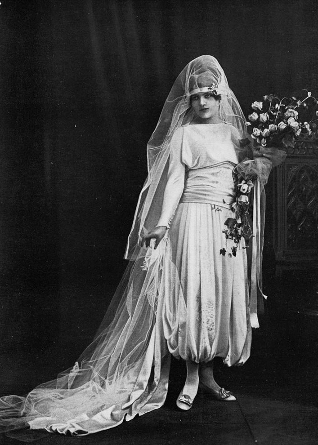 Wedding dress, 1920s-30s (25)