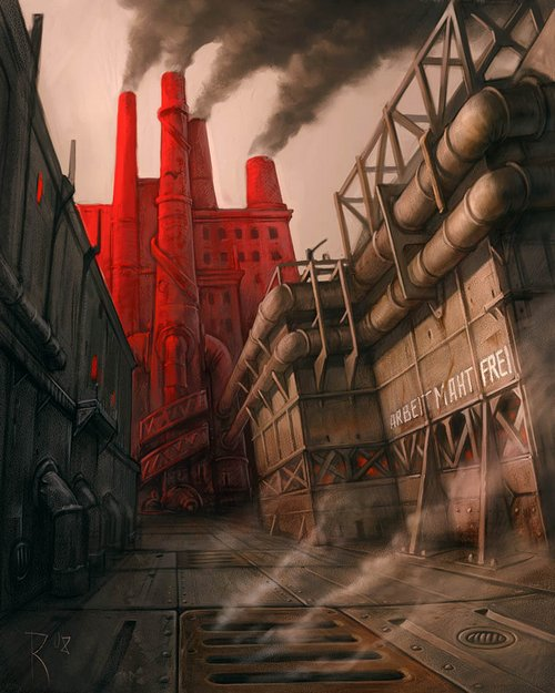 old-factory-by-waldemar-kazak-2008