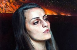 Atmospheric Paintings of Warrior Women by MartinEder.