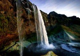 """""""Seljalandsfoss Waterfall""""."""
