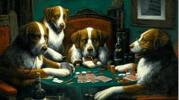 'Dogs Playing Poker' FetchesFortune.