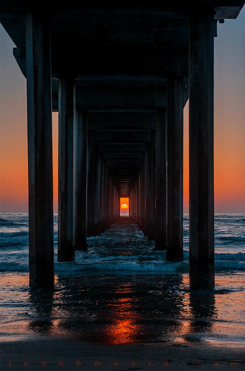 twice-year-ocean-sunset-perfectly-timed-scripps-pier-la-jolla-california-john-moore-3