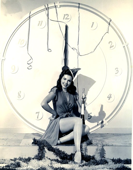 American Actresses Greeting New Year in the Past (4)